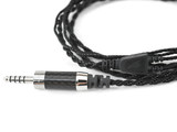 Black dragon IEM V2 with Furutech CF-7445 Carbon Fiber 4.4mm TRRRS Connector
