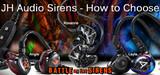 JH Audio Siren Series IEMs - How to Choose