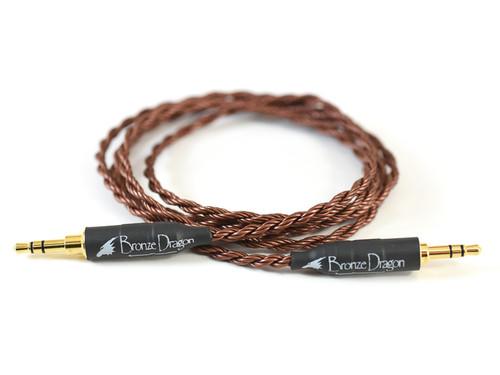Bronze Dragon Portable Headphone Cable