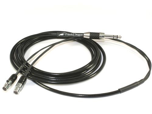 Black Dragon Premium Cable for Meze Empyrean Headphones