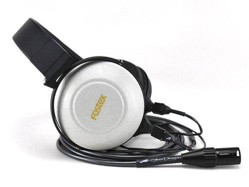 Fostex TH-900 mk2 Pearl White headphones with Silver Dragon