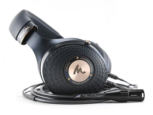Focal Celestee Headphones with Silver Dragon