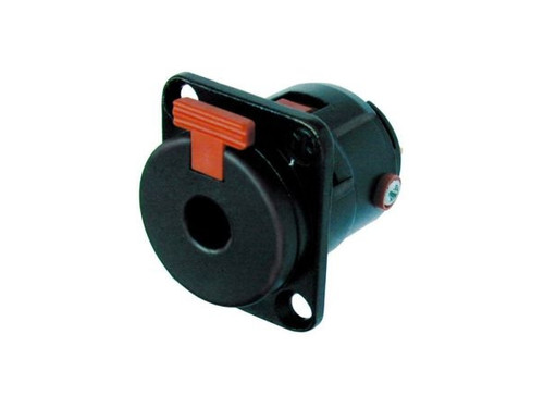 "Neutrik 1/4"" Female Panel Locking Connector"