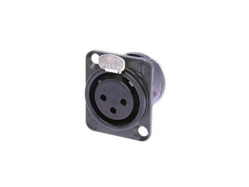 Neutrik Chassis mount female xlr 3 pin