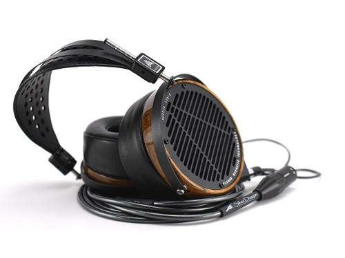 Audeze LCD-2 Open Headphones with Silver Dragon