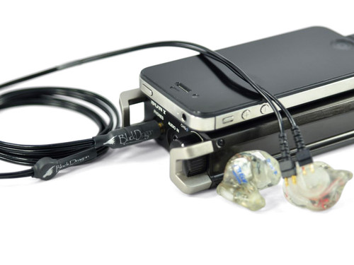Black Dragon IEM V1 Cable for FitEar