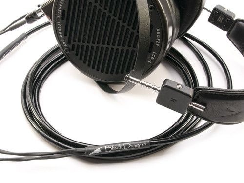 Black Dragon Premium Cable for Audeze Headphones
