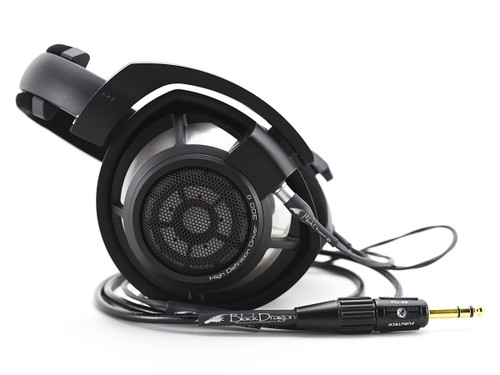 Sennheiser HD 800S headphones with Black Dragon