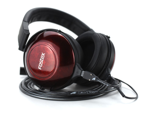 Fostex TH900 mk2 with Silver Dragon headphone cable