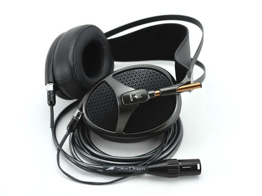 Meze Empyrean headphones with Silver Dragon Premium cable