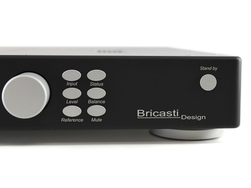 Bricasti M3h front panel selections