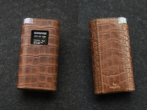 Domus Leather Case for Shure KSE 1500 IEMs by Dignis