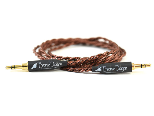 Bronze Dragon Portable Headphone Cable