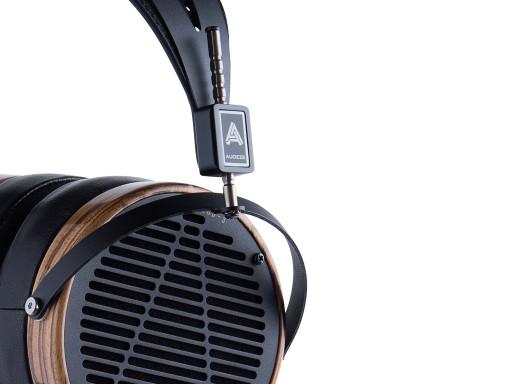 Audeze LCD-3 headphones in Zebrano