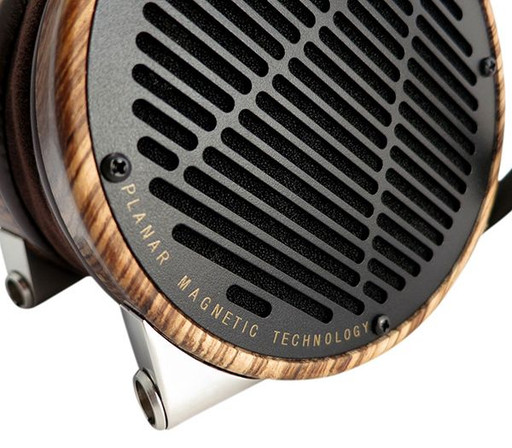 Audeze LCD-3 headphones in Zebrano
