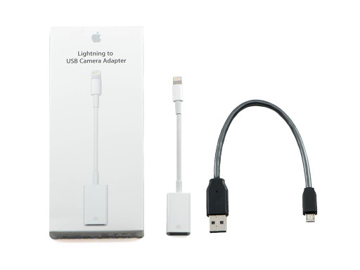 Apple CCK + Silver Dragon USB Cable for Chord Mojo