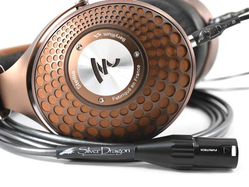 Silver Dragon Premium Cable for Focal Stellia Headphones