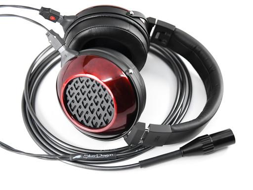 Silver Dragon Premium Cable for Fostex Headphones
