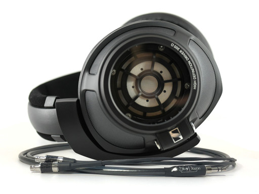 Sennheiser HD820 headphones with Silver Dragon Premium cable