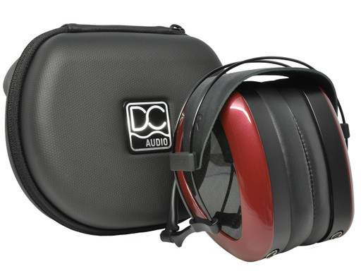 Dan Clark Aeon 2 headphones with travel case