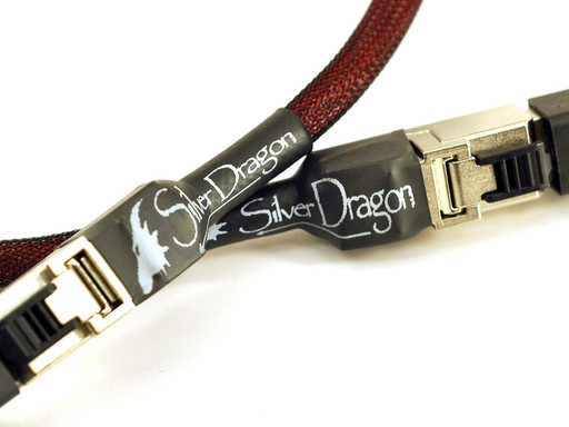 Silver Dragon Network Cable by Moon Audio