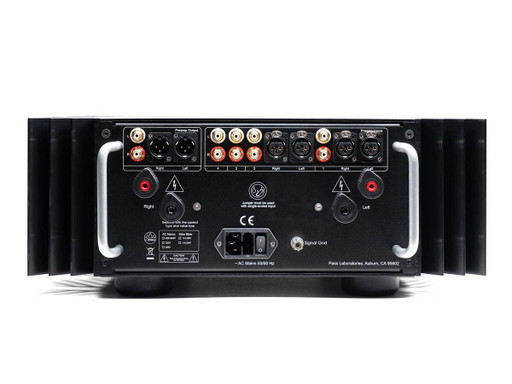 Pass Labs INT-60 back panel connections