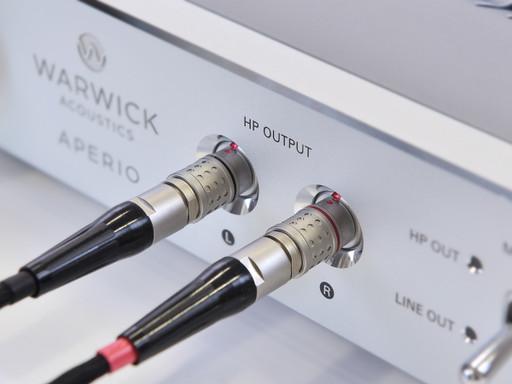 Warwick APERIO headphone amplifier