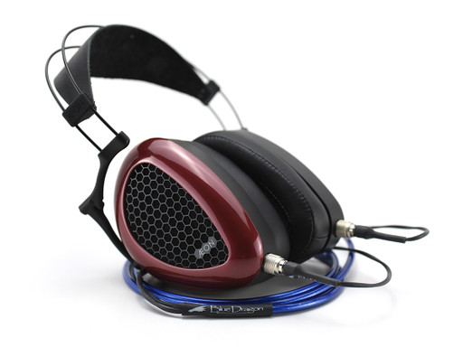 Dan Clark Aeon 2 Open headphones with Blue Dragon
