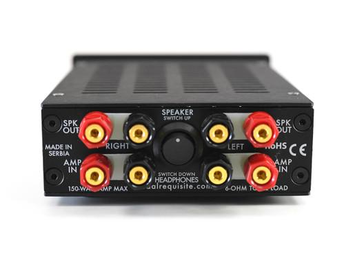 Ribbon/Amplifier Interface Box back panel
