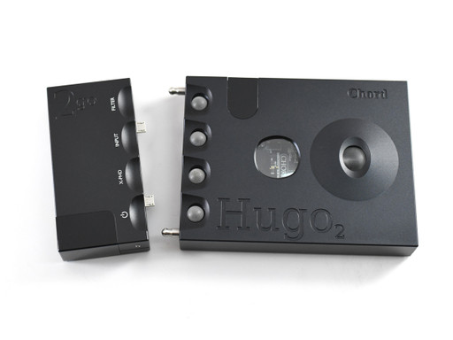 Chord 2Go and Hugo 2 with screw-in posts installed