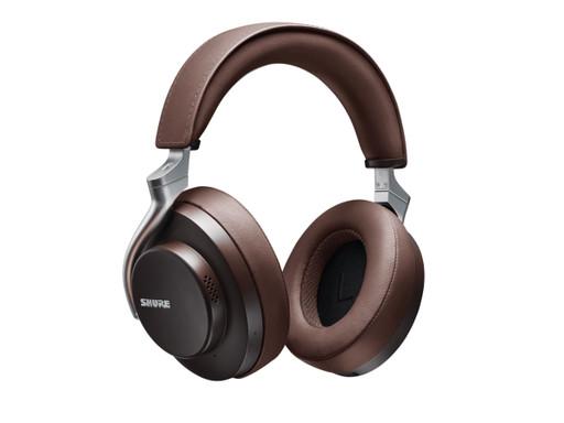 Shure AONIC 50 Wireless Headphones in Brown