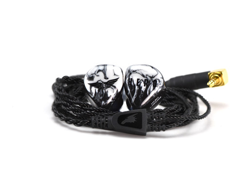 Empire Ears HERO universal IEMs with black dragon