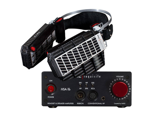 RAAL requisite HSA-1b amp with SR1a headphones