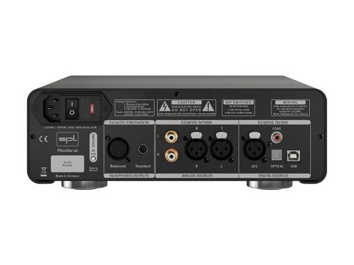 SPL Phonitor XE Headphone Amplifier & DAC (Back)