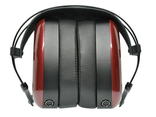 Aeon 2 headphones folded for travel