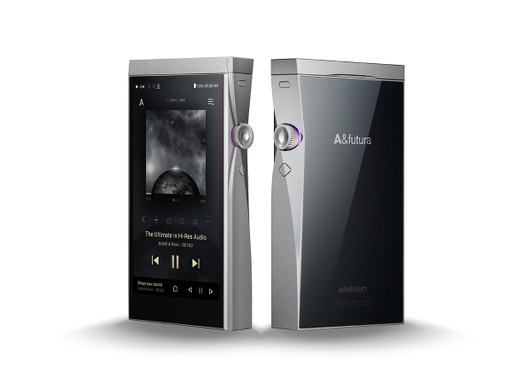 Astell&Kern A&Futura SE180 Music Player (front and back)