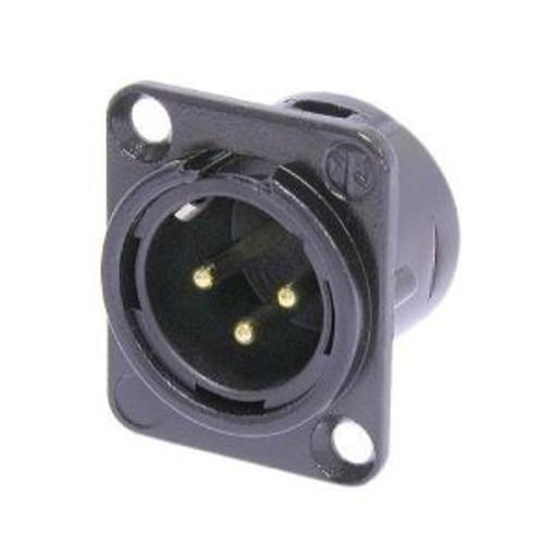 Neutrik Chassis Mount Male XLR 3-Pin