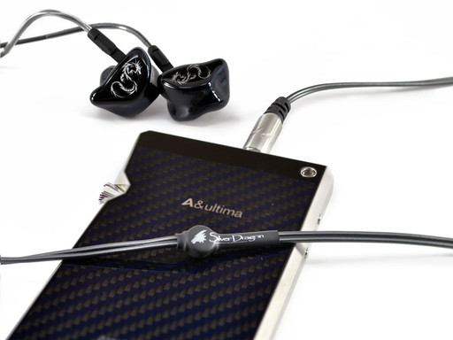 Silver Dragon IEM Headphone Cable SP1000