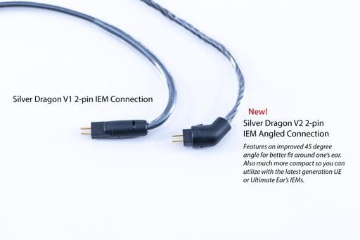 Silver Dragon V1 IEM 2pin vs Silver Dragon V2 IEM 2 pin connection