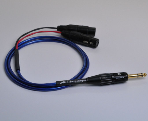 Blue Dragon Headphone Adapter Cable V3