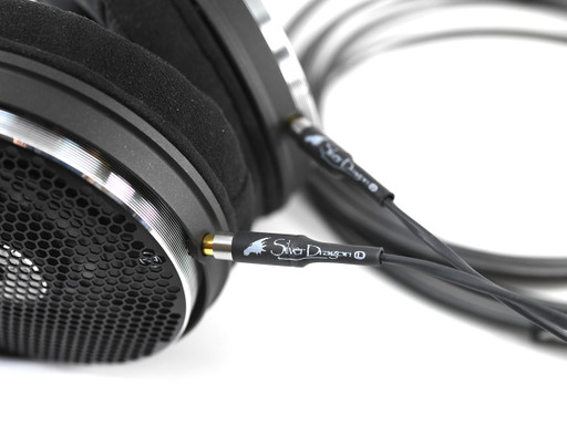 Silver Dragon cable for Audio Technica