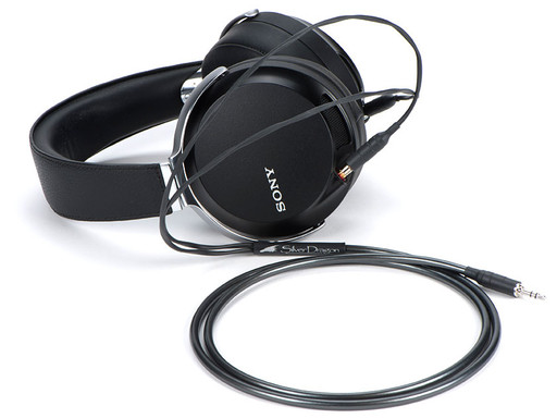 Silver Dragon V3 Headphone Cable with the Sony MDR-Z7 headphones