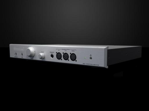 Bryston BHA-1 Balanced Headphone Amplifier-Silver