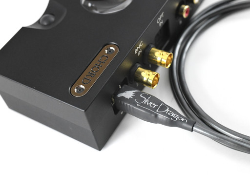 Silver Dragon USB cable for Chord Qutest DAC