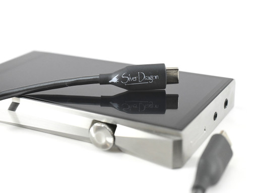 Silver Dragon USB C cable for Astell&Kern music players