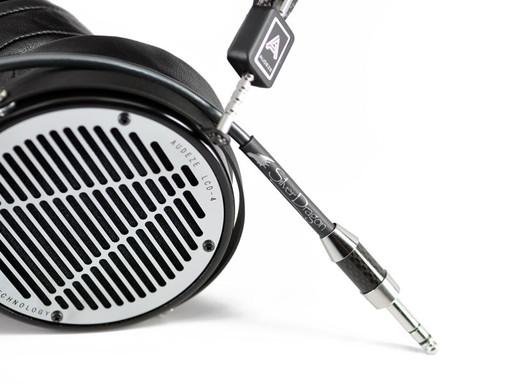Silver Dragon Premium Cable for Audeze Headphones V3