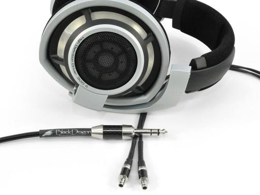 Black Dragon Premium Cable for Sennheiser HD800S, HD820 Headphones