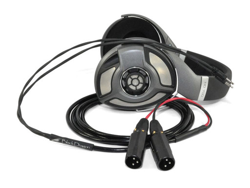 Black Dragon Cable V2 for Sennheiser HD700 Headphones