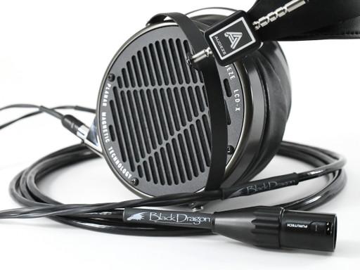 Audeze LCD-X Headphones with Black Dragon