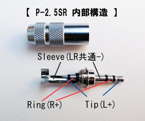 Oyaide 3.5mm Straight Gold Plated mini Plug P-3.5 G